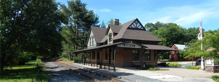 Wenonah Train Station